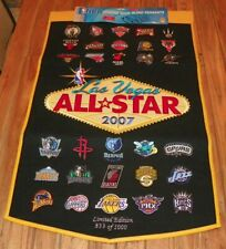 2007 NBA All Star Game / Las Vegas - Limited Edition Banner / Pennant #833/1000