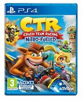 CTR - Crash Team Racing - Nitro Fueled - Playstation 4 (PS4) NEW VIDEO GAME PAL