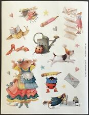 Vintage Stickers - Hallmark - Marjolein Bastin - Vera the Mouse - Dated 1997