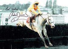 Richard DUNWOODY Jockey One Man King George Signed Autograph Photo AFTAL COA