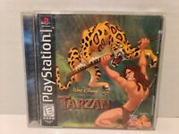 Disney's Tarzan (Sony PlayStation 1, 1999) Case and Manual Only