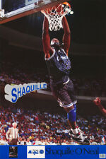 LOT OF 2 POSTERS:NBA BASKETBALL: SHAQUILLE O'NEAL - ORLANDO MAGIC   #7400 RC22 O