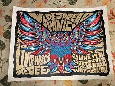 2015 Widespread Panic Wsp Jay Peak Vt Poster w/ Umphrey's McGee Um print Duval