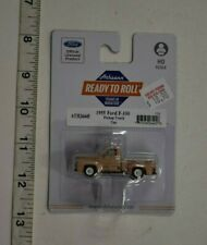 HO Scale Athearn 26445 * 1955 Ford F-100 Pickup Truck, Tan