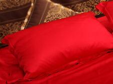 100% Mulberry Silk Pillowcase,Pure Charmeuse Silk Pillowcase 3 Sizes, 15 Colors