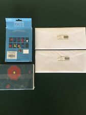 Garden of Love Notecard Set (STAMPS Included) & Liberty Bell Envelopes