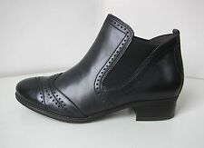 Tamaris Leder Stiefel Stiefelette schwarz 40 ankle boots bootee black classic 2