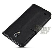 Stand Flip Leather Wallet Case Cover For Samsung Galaxy S4 Active, i9295 / i537
