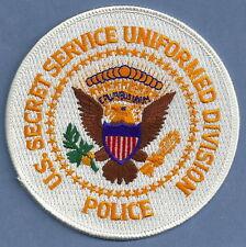 US SECRET SERVICE UNIFORM DIVISION POLICE PATCH