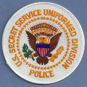 US SECRET SERVICE UNIFORM DIVISION POLICE SHOULDER PATCH