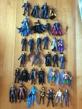 Batman Movie masters Bane Catwoman Alfred Scarecrow Watchmen Superman Zod
