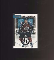 1996-97 Donruss - Hit List #18 Claude Lemieux /10000