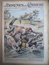 DOMENICA del CORRIERE n°7 1956 Franca Rame Mary Celeste  [G855]