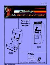 Spy Hunter Coin Game Operations/Service/Repair Manual/Coin-Op Arcade Machine Xb