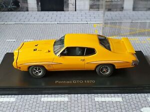 NEO SCALE MODELS 1/43 - PONTIAC  GTO COUPE RAM AIR THE JUDGE 1970