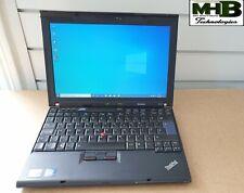 Lenovo ThinkPad X201, Core i5, 2.40GHz, 4GB RAM, 120GB SSD, Wifi, Cam, Win 10