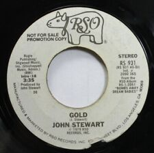 Rock Promo 45 J.Steward - Gold / Gold On Rso Records