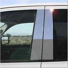 Chrome Pillar Posts for Suzuki SX4 (4dr Sedan) 07-14 6pc Set Door Trim Cover Kit