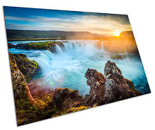ICELAND WATERFALL WALL ART LARGE A1 POSTER 33 X 23 INCH