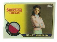 2018 Topps desconocido cosas temporada 1 Nancy Wheeler Disfraz Armario reliquia # R-NW