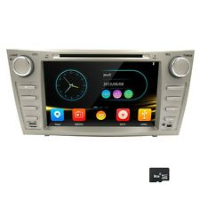 "8"" Car DVD Player GPS SAT NAVI For TOYOTA Camry AURION 3G Bluetooth iPod 7668TA"