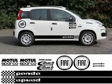 FIAT PANDA KIT x16pc grafiche Adesivi Decalcomanie 500 ABARTH PUNTO CROCE 4X4 QUBO