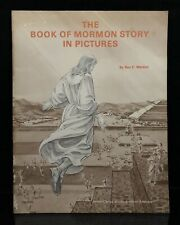 The Book of Mormon Story in Pictures RARE Vintage 1968 Paperback Roy Weldon RLDS