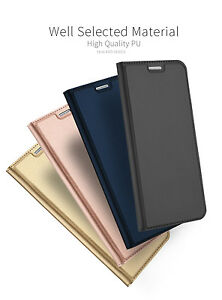 For Samsung Galaxy S8+ plus Luxury Magnetic Wallet Flip Stand Phone Case Cover