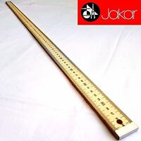 Jakar Wooden Rule 1 Meter Yard Stick School Office Tailors Ruler 1M 100cm 3007