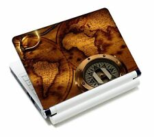 "Compass Art Laptop Sticker Skin Decal For 11.6""-15.4"" Sony Toshiba HP Dell Acer"