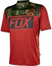 Fox Indicator Prints MTB Jersey - Heather Red - Large (HOT BUY)