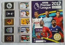 TOPPS Premier League 2017  Full Set / Empty Album  Brazil Edition + 1x Packet