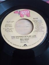 Bee Gees.Rso # 859.You Stepped Into My Life.45 Rpm.7 Inch Record(1976)