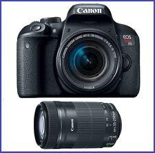 Canon EOS Rebel T7i DSLR Camera with 18-55mm & 55-250mm IS STM Lenses