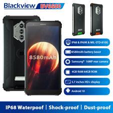 5.7 inch Blackview BV6600 Rugged Smartphone IP68 8580mAh Octa Core 4GB+64GB 16MP