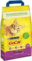 Purina Go-Cat Duck & Chicken Complete Adult Dry Food Go Cat - 4kg