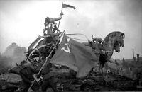 6x4 Gloss Photo ww3CAF World War 2 Germany Berlin Brand 3