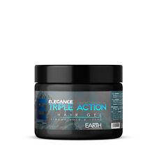 Elegance Triple Action Styling Hair Gel Earth Blue Label 35oz 1000ml NEW SEALED