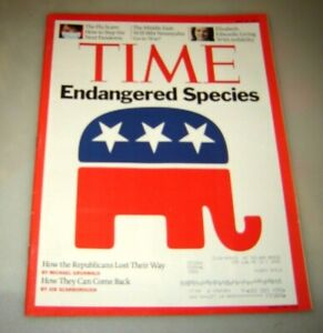 Time Magazine May 18 2009 ENDANGERED SPECIES, How Republicans Lost Their Way