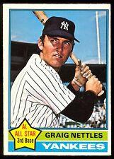 1976 TOPPS OPC O PEE CHEE BASEBALL #169 GRAIG NETTLES EX-NM N Y NEW YORK YANKEES