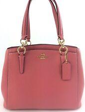 New Coach F13683 Leather Minetta Handbag Crossbody Shoulder Bag Purse Glitter