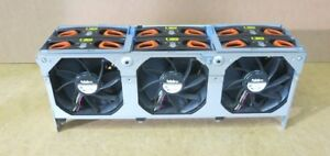 Dell Poweredge R910 Server Fan Cage C211T With 6 NIDEC Fans V12E12BS2b5-07A021
