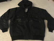 CROOKS & CASTLES THICK CHAIN HOODY JACKET BLACK LARGE L supreme palace