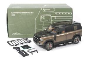 New Almost Real 1/18 2020 Land Rover Defender 110 Diecast Model Car Brown Gift
