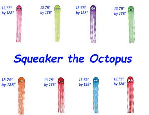 Squeaky the Octopus kites Premier design