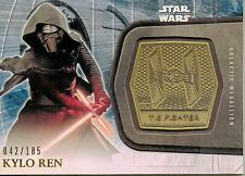 2015 TOPPS STARWARS THE FORCE AWAKENS SERIES 2 GOLD MEDALLION   #042/185