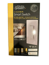 GE - Wi-Fi Smart In-Wall Switch - White & Light Almond 40792 (Brand New/Sealed)