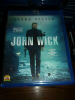 JOHN WICK - BLU-RAY ONLY!! - WATCHED ONCE!!