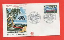 FDC 1970 - LA MARTINIQUE - Rocher du Diamant   (1397)