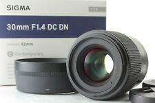 【 Near Mint in BOX】 SIGMA 30mm f/1.4 DC DN Lens For Micro Four Thirds From JAPAN